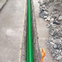 Ducts in carriageway